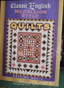 Classic English Medallion Style Quilts - a really nice book with good photos and directions.