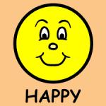Clip Art of happy face