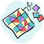 clip art - quilt block