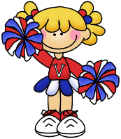 Clip art - cheer leader