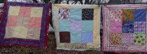 3 donated.DONATED BABY QUILTS TO THE LOCAL CRISIS PREGNANCY CENTER