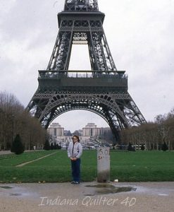 Photo of Eiffel Tower in Paris, France.