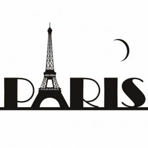 Clip art of Eiffel Tower