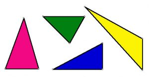 Clip art - triangles
