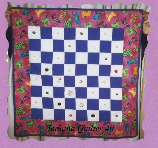 Kid Project: Button Quilt