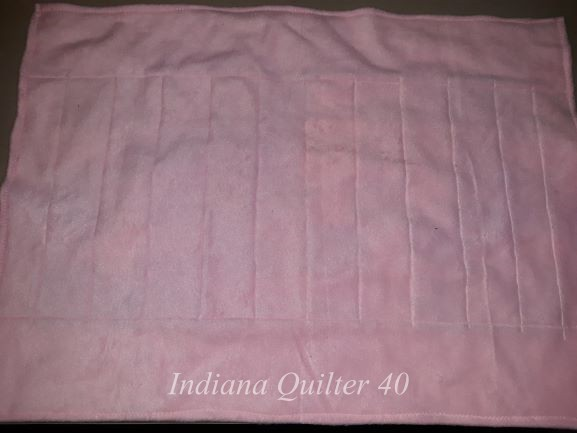 Reverse side of HOW TO MAKE TWO DOLL QUILTS IN A DAY(Part 1)