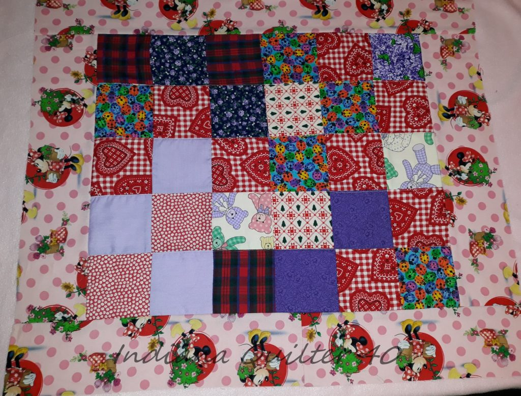HOW TO MAKE TWO DOLL QUILTS IN A DAY(Part 2)