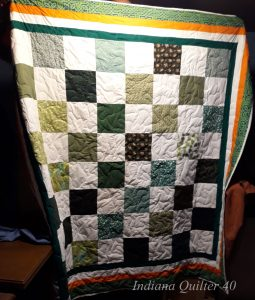 In Memory of Ireland quilt