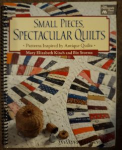 QUILTING BOOKS FOR TINY SCRAPS