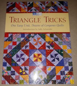 Quilt Book using triangles