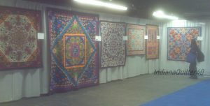 More quilts by the Egyptian tent makers.