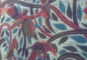 Applique of birds