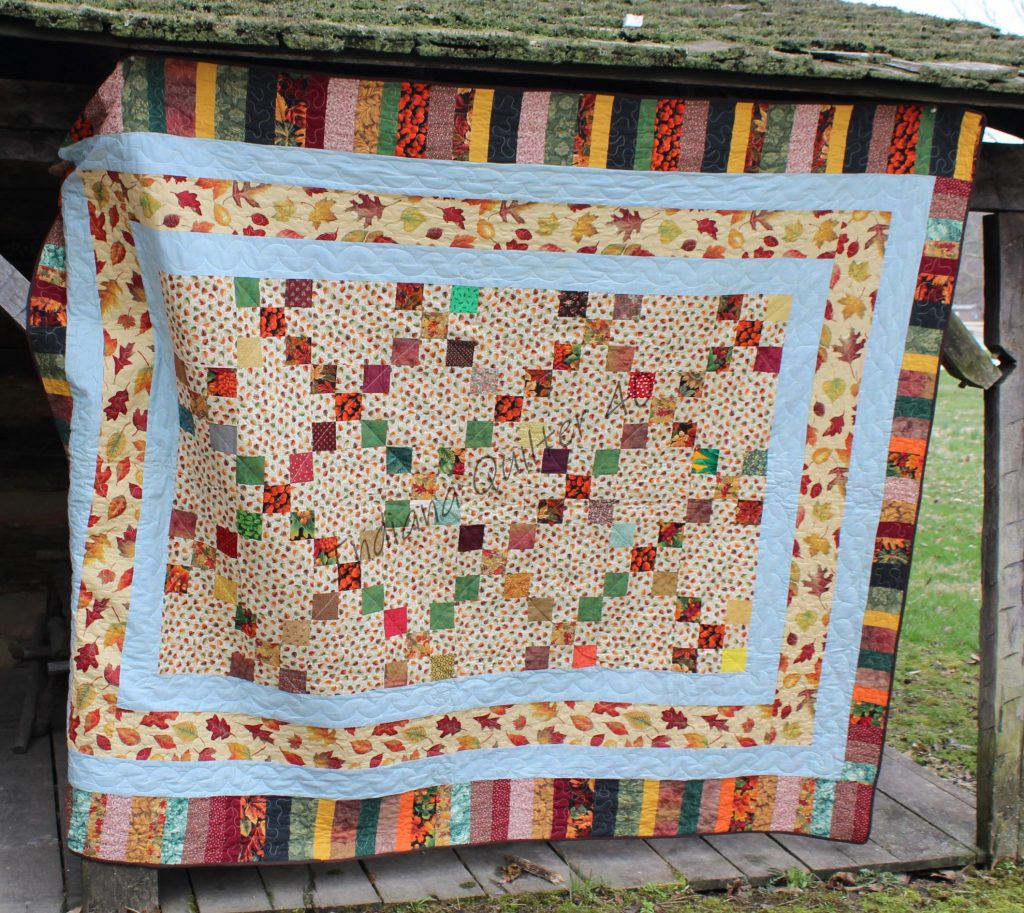 Autumn Color quilt