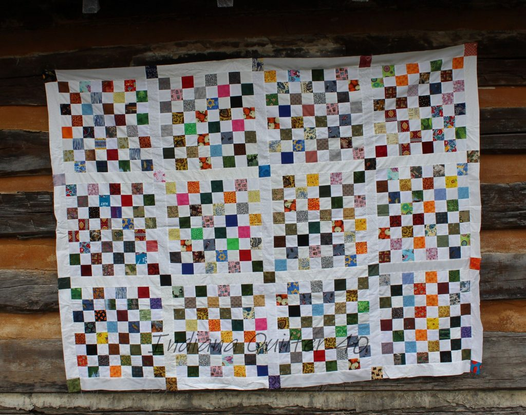 Simply Squares quilt top