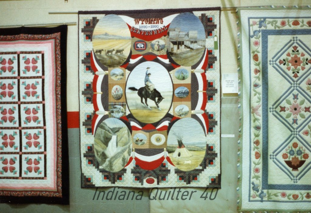 Quilt Show in Powell, WY 1994