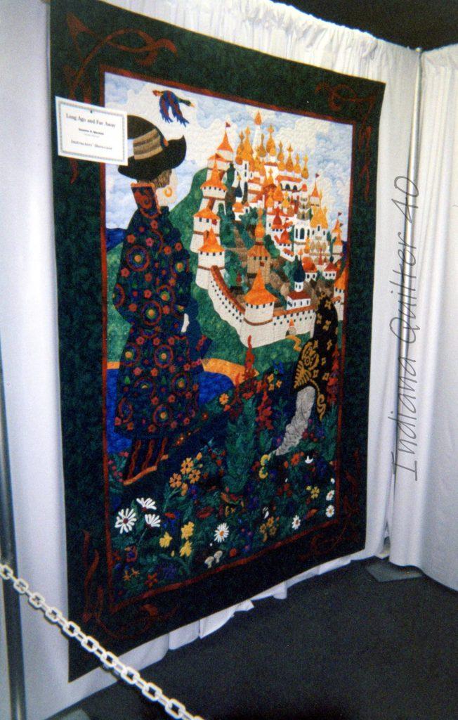 Castle themed quilt