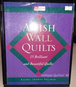 "Book titled ""Amish Wall Quilts"""