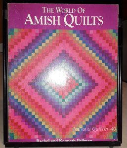 "Book titled ""The World of Amish Quilts"""