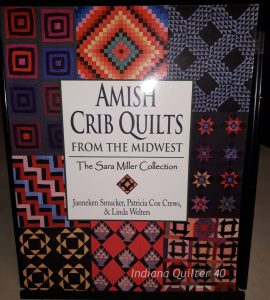 "Book Titled ""Amish Crib Quilts from the Midwest"""
