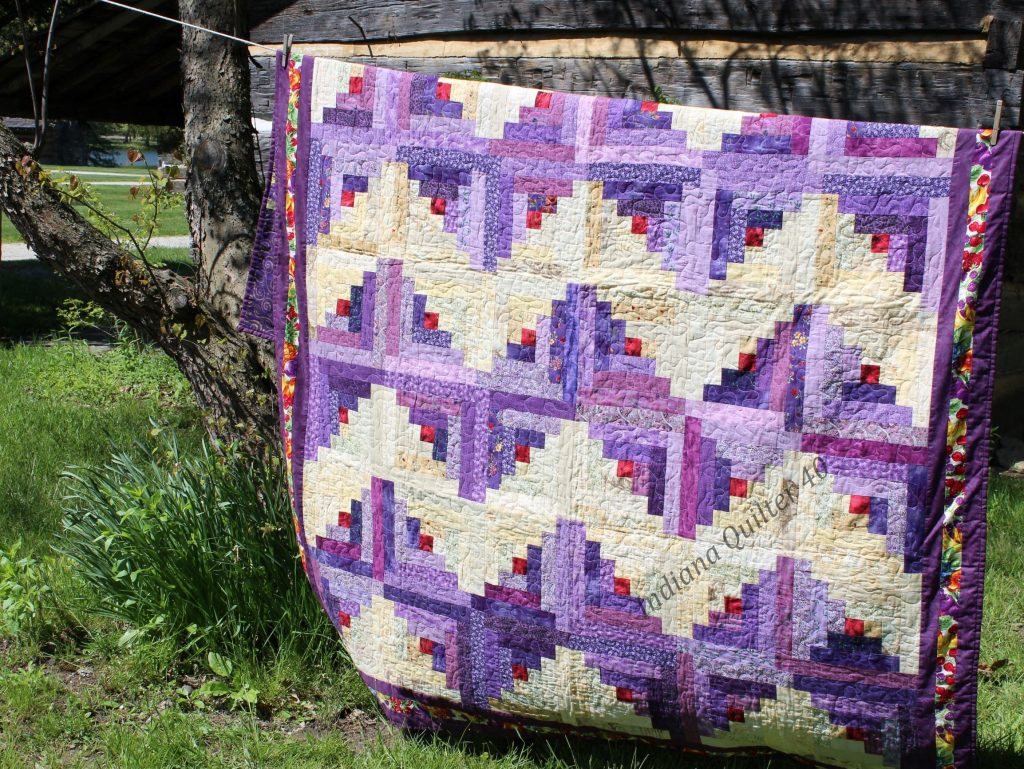 Purple Without Apology Quilt
