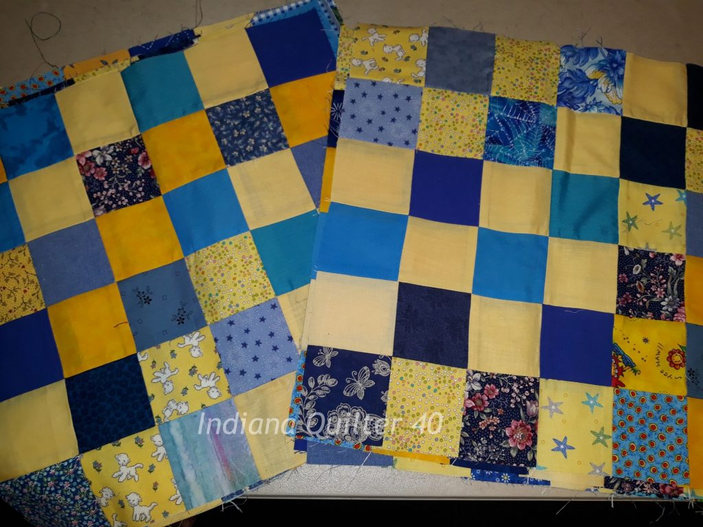 Completed blocks for this quilt.