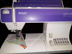 BASIC QUILTER'S TOOL BOX - my sewing machine.