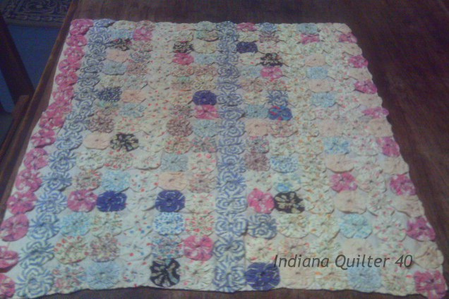 Yo-yo Doll Quilt Memories