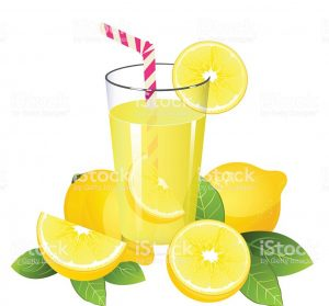 clip art - lemons and lemonade