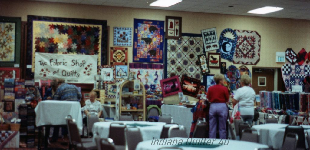 MEMORIES OF A QUILT SHOW IN BILLINGS, MT