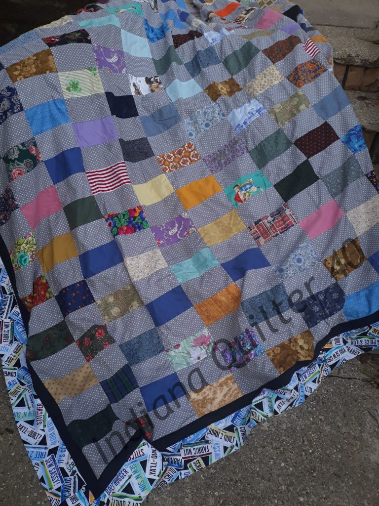 SCRAP RECTANGLE PARTY QUILT