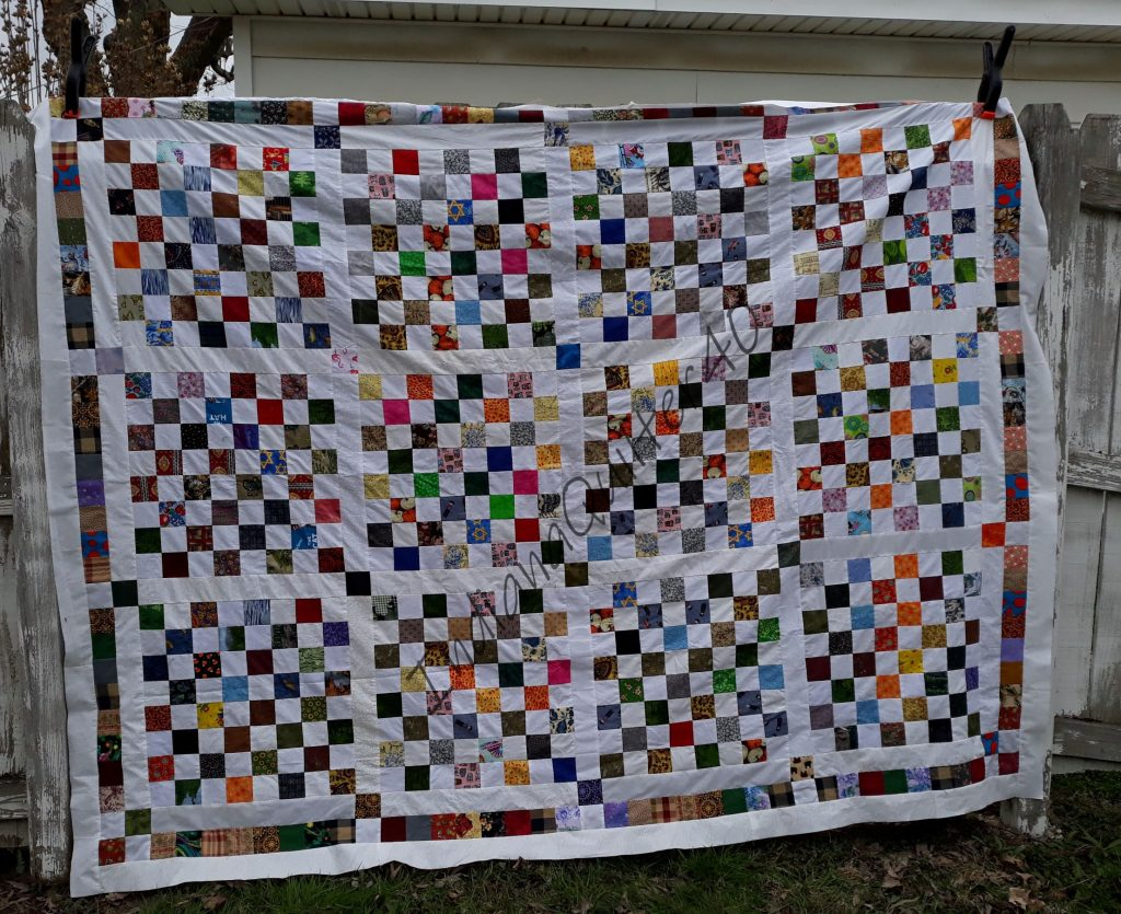 QUILTING and 7 MONTHS OF COVID