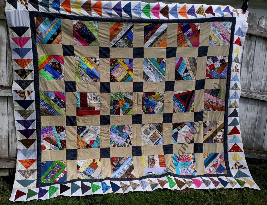 Another COVID quarantine quilt top completed.