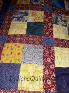 Easy 4 patch quilt