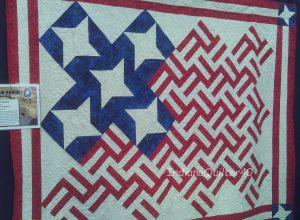 Flag quilt.