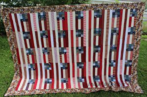 Flags & Teddy Bears quilt.