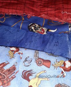 Western themed fabric