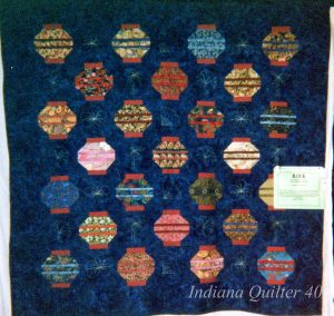 Another beautiful lantern quilt.