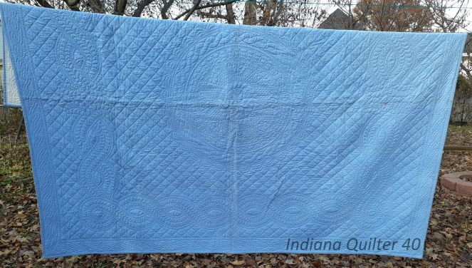 USING PRE-PRINTED QUILT TOPS