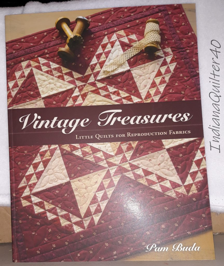 THESE QUILTING BOOKS FOLLOWED ME HOME