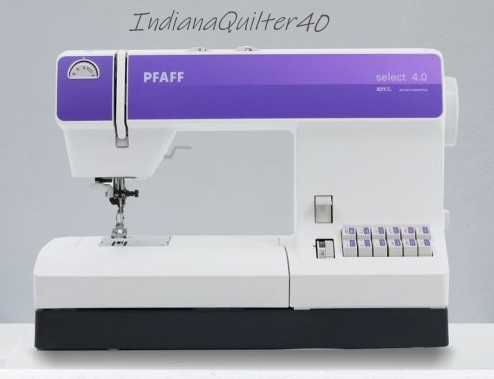Pfaff Select 4.0 - PREPPING FOR WINTER QUILTING